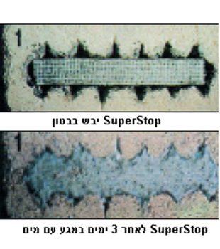 עצר מים כימי מתנפח SuperStop
