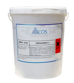 חומר איטום קריסטלי CristalProof L1