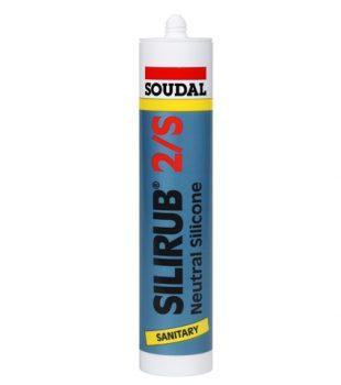 סיליקון מיוחד נגד עובש לחדרי אמבטיה  וחדרים רטובים Silirub 2/S